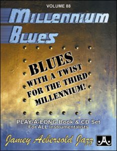 Jamey Aebersold Jazz Play-A-Long Volume 88 Millenium Blues