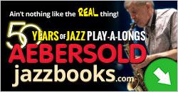 Jamey Aebersold Jazz - www.jazzbooks.com