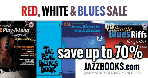 Blues Books & Jazz Blues Play-A-Longs at Jamey Aebersold and Jazzbooks.com
