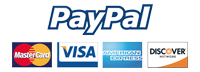 jazzbooks.com proudly accepts PayPal, Visa, MasterCard, American Express, & Discover.
