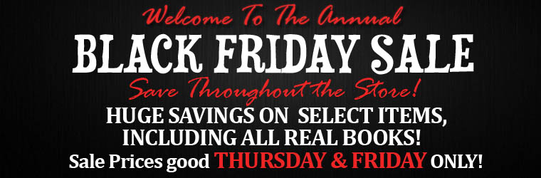 Welcome to the Annual Black Friday Sale!