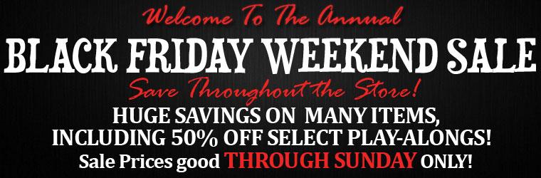 Black Friday Weekend Savings Continue Through Sunday!=