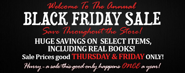 Black Friday Savings Start NOW!=