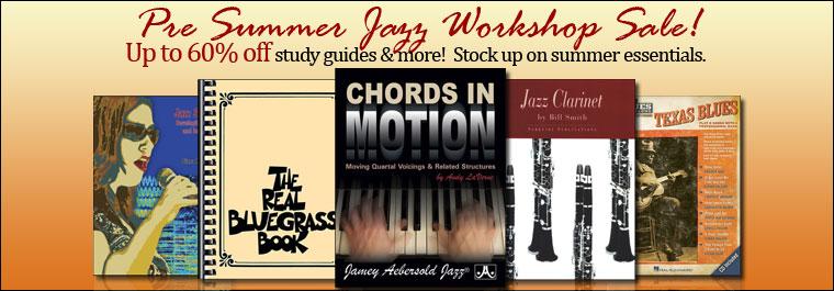 Pre-Summer Jazz Workshop Sale!