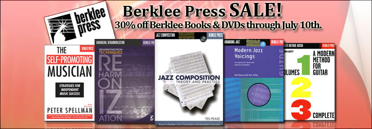 Berklee Press Sale!