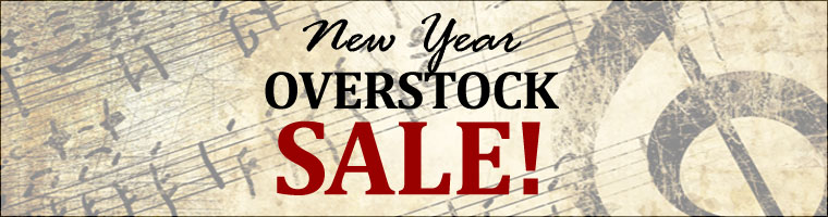 New Year Overstock Sale