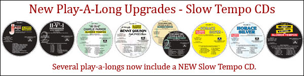 New Play-A-Long Upgraded CDs!