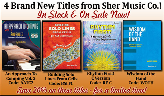 4 New Books from Sher Music!